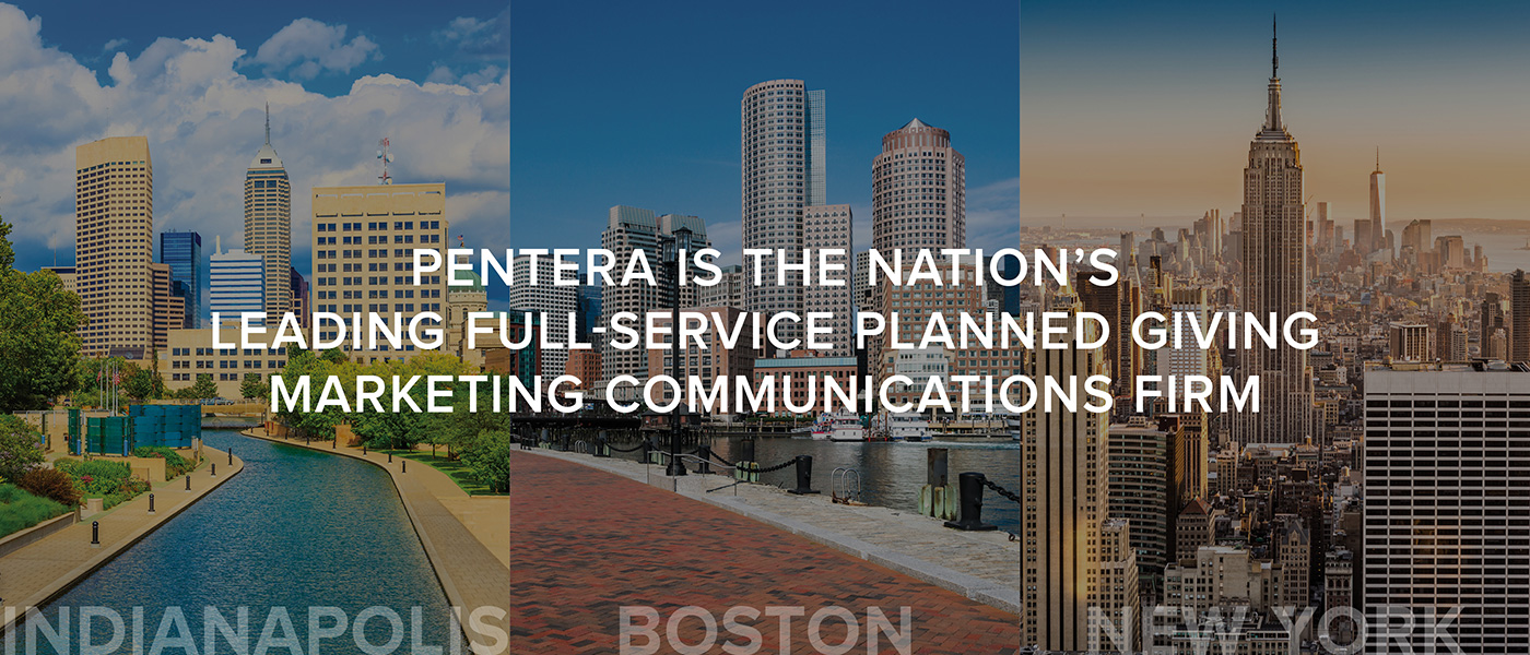 Pentera is the Nation's Leading Full-Service Panned Giving Marketing Communications Firm