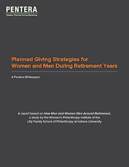 Planned Giving Strategies for Women and Men During Retirement Years