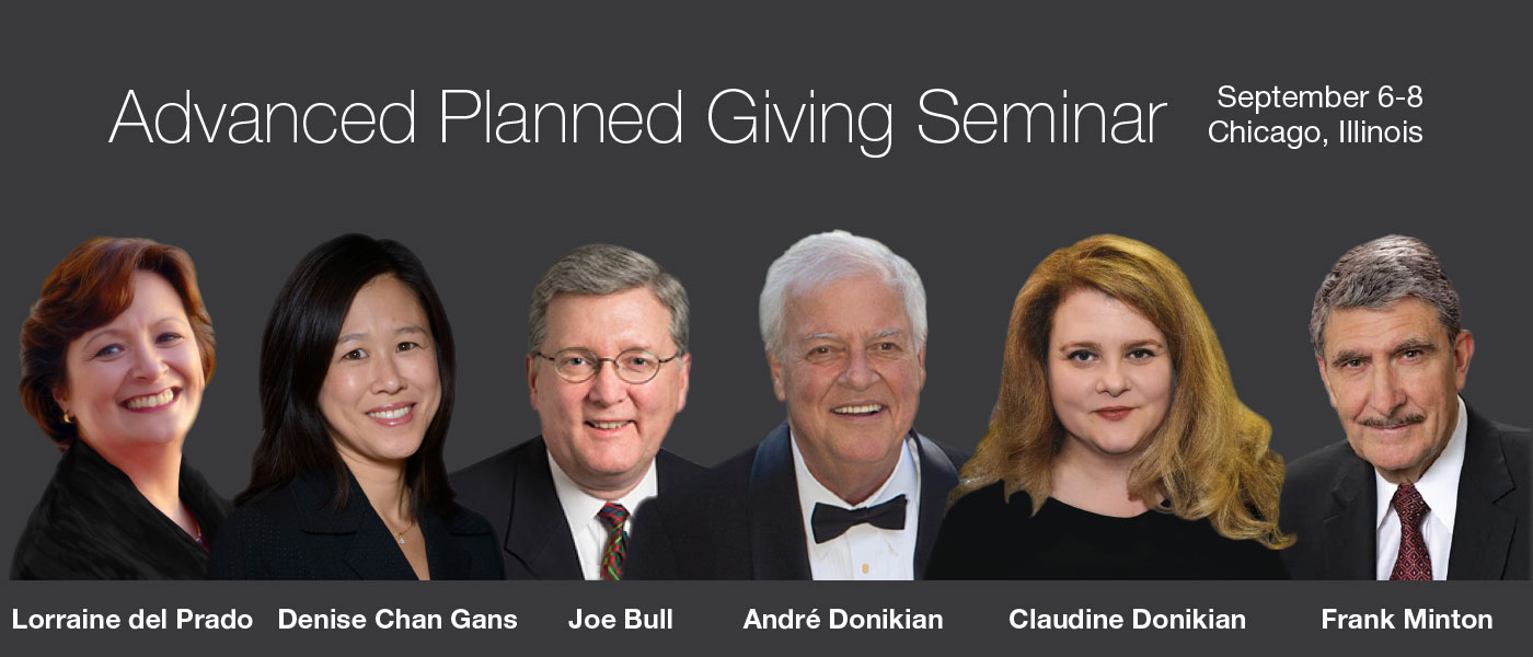 Advanced Planned Giving Seminar